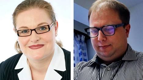 Keravan kaupunginjohtaja Kirsi Rontu ja johtava ylilääkäri Olli Huuskonen kertovat, että koronavirustartuntojen jäljitys Keravalla toimii erittäin tehokkaasti.