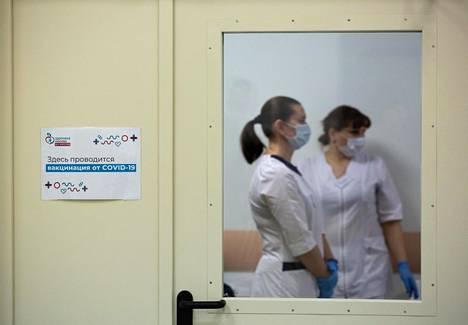 Moskovassa on 70 covid-19-rokotuspistettä, joista yksi on klinikka 62:n neljäs filiaali.