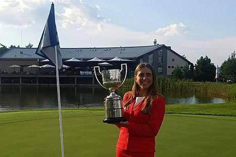Celia Barquín Arozamena voitti tällä kaudella amatöörien Euroopan mestaruuden.