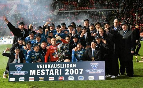 Tampere United voitti jalkapallon Suomen mestaruuden kolmesti.
