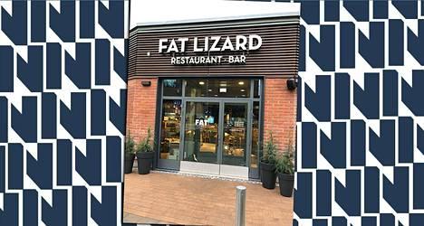Ravintola Fat Lizard avasi ovensa loppiaisena Otaniemessä.