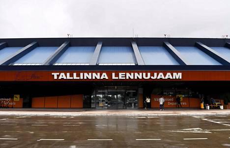 Tallinnan lentoasema Tallinnassa torstaina 27. kesäkuuta 2019.
