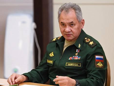 Venäjän puolustusministeri Sergei Šoigu marraskuussa 2020.