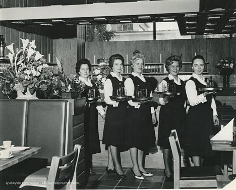 Jyväskylän Kantakrouvissa anniskeltiin olutta 1963.