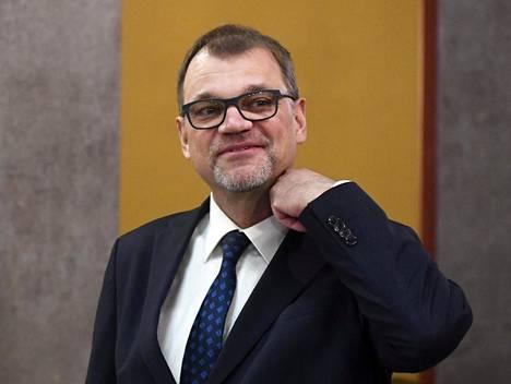 Pääministeri Juha Sipilä on tiistaina median tentattavana.