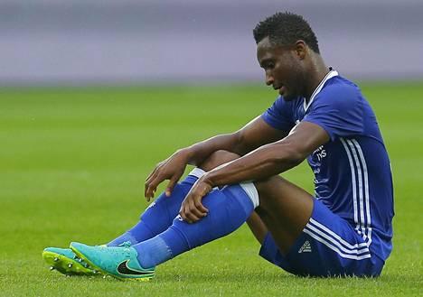 Chelsean Mikel John Obi toimii Nigerian maajoukkueen kapteenina olympialaisissa.
