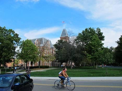Ohio State Universityn kampusaluetta Columbuksessa Yhdysvalloissa.