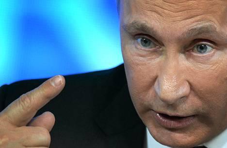 Venäjä on Kiinan ohella yksi harvoista Pohjois-Korean tukijoista. Kuvassa Venäjän presidentti Vladimir Putin.