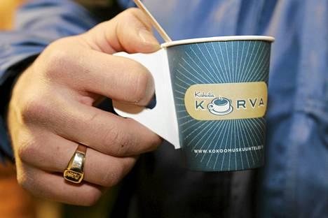 Kokoomuksen Korva-kahvila oli osa vaalikampanjointia vuonna 2007.