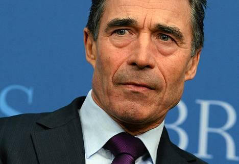 В среду генсек НАТО Андерс фог Расмуссен выступил с речью в Вашингтоне.