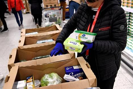 Verkkokaupan ruokakassien toimitusajat vaihtelevat.