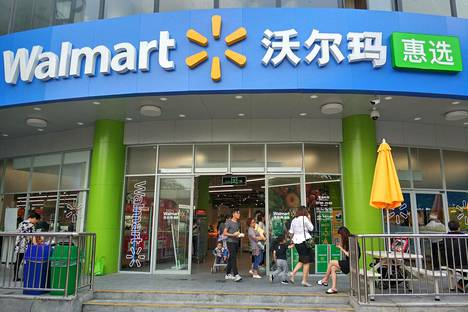 Vähittäiskauppaketju Walmart on hakenut kasvua Kiinan ja Intian markkinoilta.
