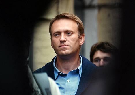 Aleksei Navalnyi Moskovassa viikko sitten.