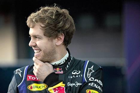 Sebastian Vettel on nelinkertainen maailmanmestari.
