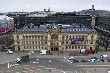 Ateneumin taidemuseo huhtikuussa 2020.