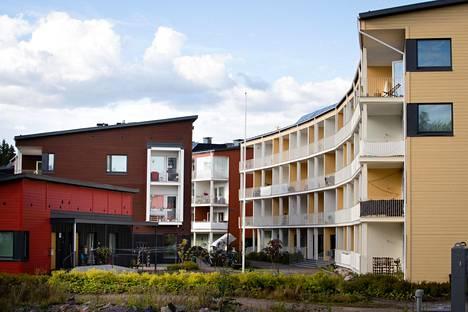 Honkasuo on Helsingin uusi ekologinen puutaloalue.
