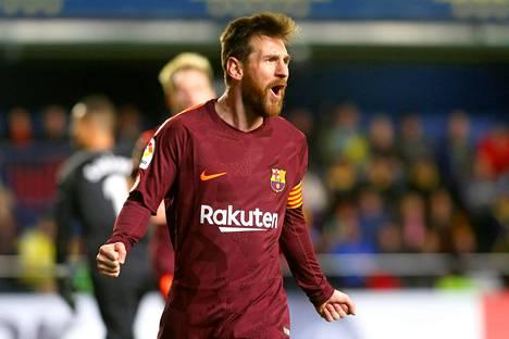 Lionel Messi johdatti Barcelonan taas voittoon.