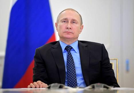 Venäjän presidentti Vladimir Putin Moskovassa joulukuun lopussa.