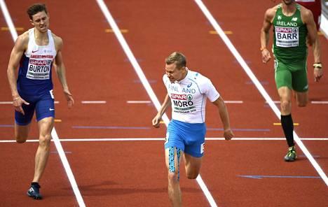 Oskari Mörö juoksi torstaina kauden ennätyksensä. Mörö kilpaili EM-finaalissa myös kaksi vuotta sitten.