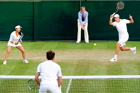 Henri Kontisen ja Jie Zhengin pelit päättyivät Wimbledonissa toiselle kierrokselle.