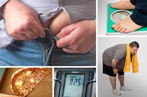 Tutkimuksen mukaan ylipaino vaikuttaisi aina heikentävästi terveyteen.