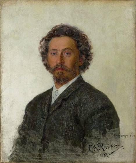 Ilja Repin: Omakuva (1887).