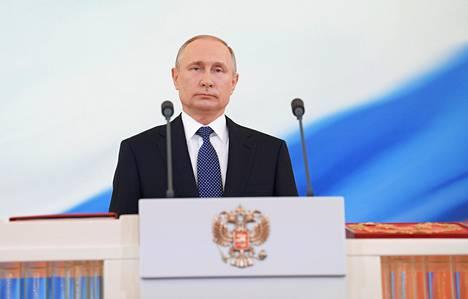 Putin vuonna 2018.