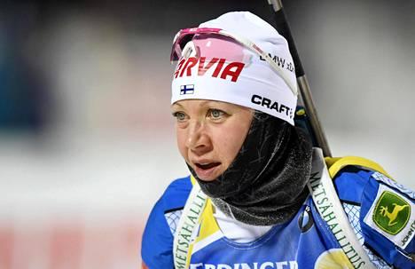 Sunnuntaina Mäkäräinen sijoittui 14:nneksi yhteislähtökisassa Annecyssä Ranskassa.