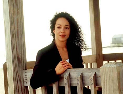 Alison Carey kuvattuna New Yorkissa vuonna 1996.