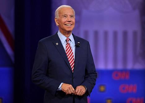 Joe Biden on matkalla demokraattien presidenttiehdokkaaksi.