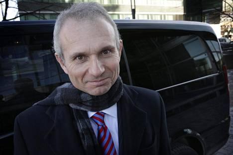 Britannian Eurooppa-ministeri David Lidington vieraili Suomessa maaliskuussa 2013.