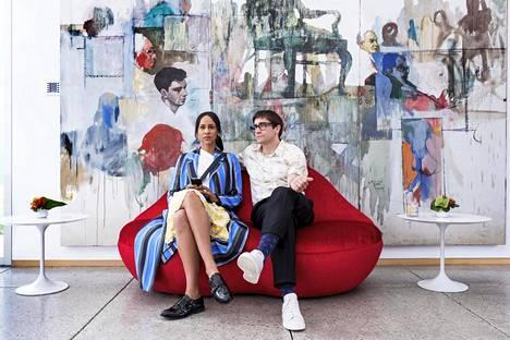 Zawe Ashton ja Jake Gyllenhaal näyttelevät keskeisiä osia Los Angelesin taidemaailmaan sijoittuvassa Velvet Buzzsaw -elokuvassa.