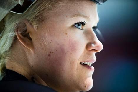 Naisten olympiajoukkueen maalivahti Noora Räty harjoitteli joulu- ja tammikuussa Mestiksessä pelaavan Kiekko-Vantaan kanssa.