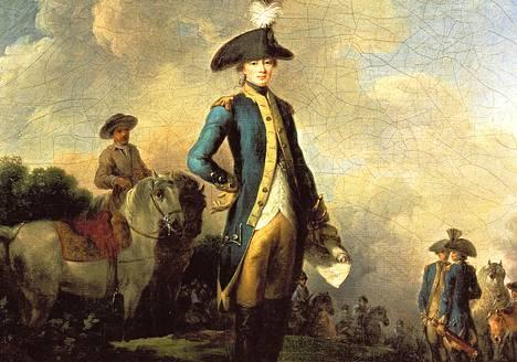 Lafayetten markiisi Gilbert du Motier nousi oman aikansa superjulkkikseksi.