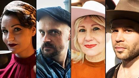 Fiona Timatti, Matti Pikkujämsä, Hanna Sarn ja Kimmo Halme käyttävät hattua.