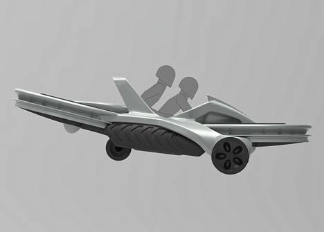 Aero-X-nimellä myytävä alus voi nousta kuuden metrin korkeuteen ja saavuttaa 72 kilometrin tuntinopeuden.