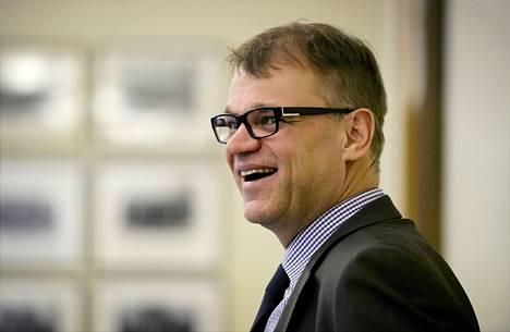 Juha Sipilä esitteli keskustapuolueen ulko- ja turvallisuuspoliittisia linjauksia eduskunnassa keskiviikkona.