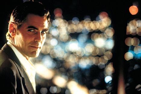 George Clooney on pääosassa Steven Soderberghin ohjaamassa elokuvassa Out of Sight – mieletön juttu.