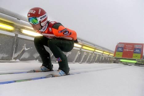 Anssi Koivuranta oli kymmenes Trondheimin mäkikilpailussa.