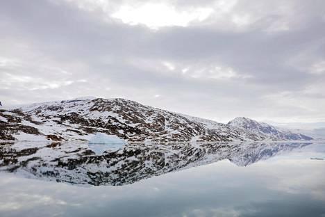 Grönlannin itärannikkoa Tasiilaqin kaupungin lähellä kesäkuussa 2018.