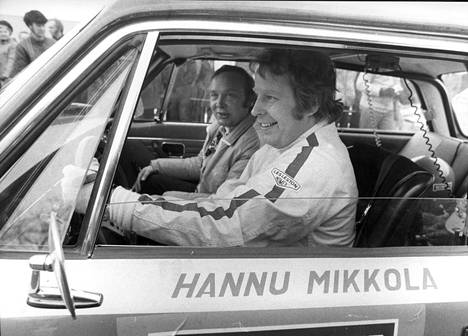 Hannu Mikkola kuvattuna vuonna 1972.