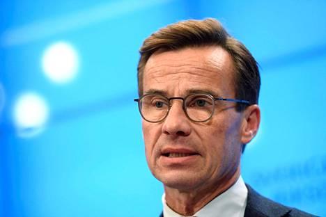 Kokoomuksen puheenjohtaja Ulf Kristersson.