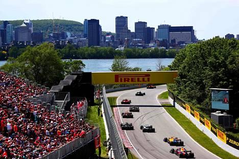 Montrealissa ajettiin F1-kisa edellisen kerran kaudella 2019.