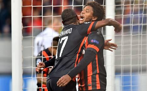 Luiz Adriano (oik.) on ollut Mestarien liigassa huippuvireessä.