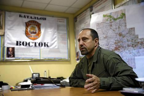 Kapinalliskomentaja Alexander Hodakovskin mukaan separatisteilla on ollut BUK-ohjuksia.