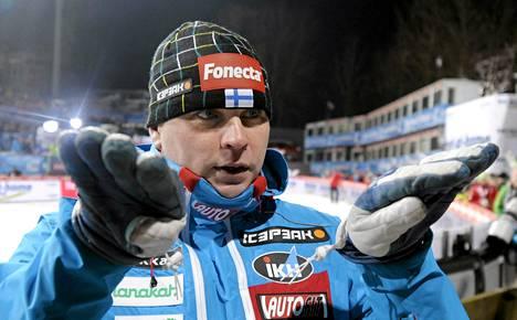 Mäkihyppääjien päävalmentaja Pekka Niemelä