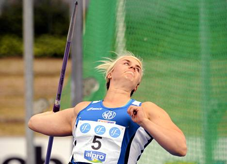 Sanni Utriainen kesällä 2012.