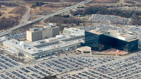 NSA:n päämaja sijaitsee Fort Meadessa Marylandissa.