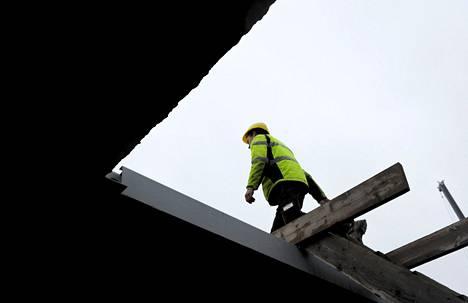 Harmaan talouden kitkeminen on onnistunut rakennustyömailla.