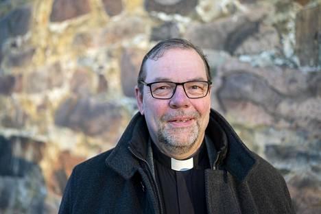 Jouni Lehikoinen on Turun Mikaelinseurakunnan kirkkoherra.